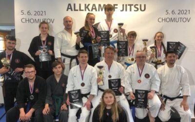24. Mistrovství ČR vSebeobraně Allkampf-Jitsu